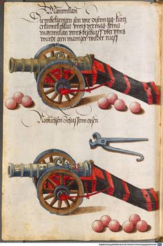 Zeugbuch Kaiser Maximilians I Innsbruck, um 1502 Cod.icon. 222  Folio 35v