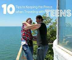 Tips to keep the peace when traveling with teenagers via @Tonya Prater (The Traveling Praters).