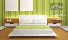 Master Bedroom, Furniture Styles, Bright Colors, Seating Area #Legend #Interiors #Hyderabad