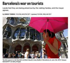 Barcelona's war on tourists / @POLITICOeurope   #socialtravel
