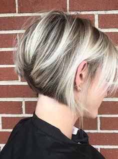 Frisuren Trends – Schicke und auffällige Bob Frisuren