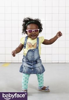 Babyface Toddler GIRLS summer 2016 collection. In stores from February 2016. T-shirt, Dress and Legging.