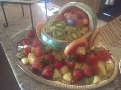 Baby fruit basket
