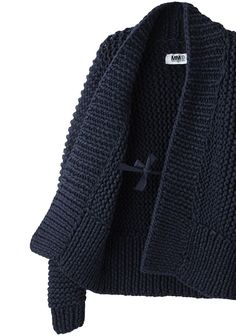 MM6 by Maison Martin Margiela Chunky Hand-Knit Cardigan | La Garçonne