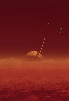 "Saturn's Titan --""Offers a Blueprint for Life Outside the Box"""
