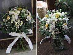 会場装花 Little Garden Bouquet, Table Decorations, Interior, Garden, Flowers, Wedding, Home Decor, Valentines Day Weddings, Garten