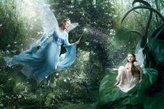 Disney Dream Celebrities Portraits by Annie Leibovitz