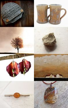 Warm and Earthy by Cathy on Etsy--Pinned with TreasuryPin.com