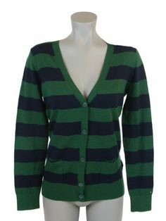 Tommy Hilfiger Women Logo Striped Cardigan Sweater « ShirtAdd.com – Perfect Fit Shirts
