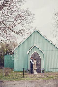 A Laid Back DIY Wedding at The Tin Tabernacle: Jen & Michael