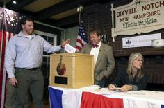 Trump takes 32-25 lead in New Hampshire after midnight voting Trump takes32-25 lead in New Hampshire after midnight voting:- As the world waits with bated breath for the results of Tuesday's contentious presidential election, its eyes turned briefly to three sleepy hamlets in rural New Hampshire, as their residents — fewer than 100 total — …