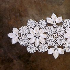 Portuguese handmade linen | Vintage Crochet Table Center Portuguese Vintage Crochet Home Decor