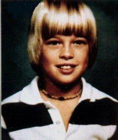 brad pitt as a kid