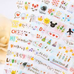 Aliexpress.com : Buy 18 sheets /Lot DIY Cute Simple Life Stickers for Diary Notebook Telephone Kawaii Decoration Sticker Stationery from Reliable sticker suppliers on Rainbow's store | Alibaba Group