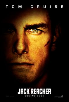 Here's a glimpse of Tom Cruise as JACK REACHER in the new international #JackReacherMovie poster!