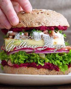 Video Thumbnail Burger Co, Beste Burger, Hummus, Salmon Burgers, Bbq, Chicken, Healthy, Ethnic Recipes, Fast Food