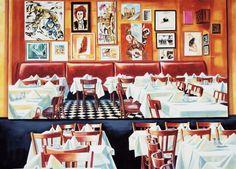 Martin Kippenberger Paris Bar, 1993 Acryl auf Leinwand, 259 x 360 cm François Pinault Foundation © Estate Martin Kippenberger, Galerie Gisela Capitain, Köln