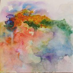 watercolors..