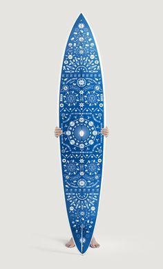 cornflower blue board, beautiful design