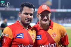 Islamabad united won by 8 wickets Shane Watson, Man Of The Match, Polo Ralph Lauren, The Unit, Baseball Cards, Wickets, Sports, Mens Tops, Pakistan