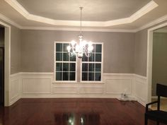 Gray Dining Room...blend into kitchen