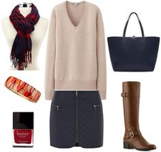 All things quilted are hot for fall 2014, and we share two chic ways to style a quilted mini skirt; one look fit for a day of classes, the other perfect for a fun night out.