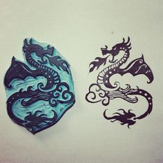Sello dragon
