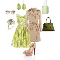 I love this color green for spring!