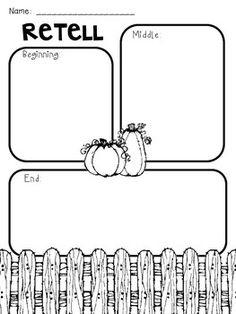 halloween story elements graphic organizer