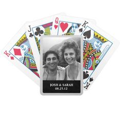 #Card #Games #Zazzle #shopping #sofiprice Photo Playing Cards - https://sofiprice.com/product/photo-playing-cards-57718916.html