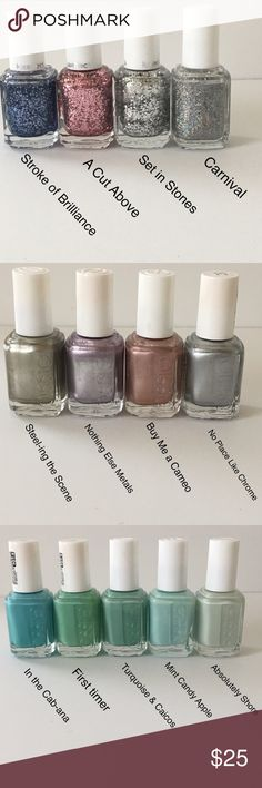 Essie Nail Polish set Essie nail polishes sold in set of 5. You get to pick the color. Set of 5 is sold for $25. essie Other