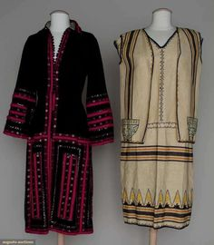 Augusta Auctions, March 21, 2012 NYC, Lot 270: Two Day Dresses, 1920s