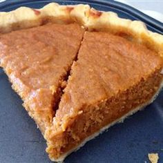 "Sweet Potato Pie I | ""I just made this recipe for Thanksgiving and loved it! The pie is so simple to make and tastes delicious. I used three medium to large sized potatoes. I will use this recipe for now on."""