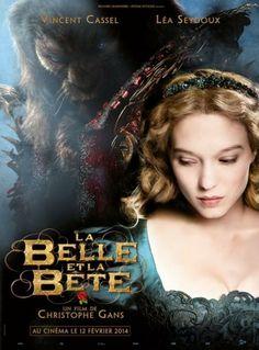 L'affiche du film de La Belle et à la Bête