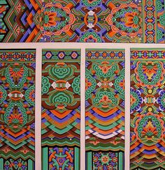 17 Best images about Korean Textiles,Designs and Accessories on . Motif Design, Textile Design, Pattern Design, Korean Art, Asian Art, Korean Traditional, Traditional Art, Textures Patterns, Print Patterns