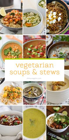 These vegan and vegetarian soup, stew and chili recipes are packed with veggies, and many are perfect for freezing in batches.