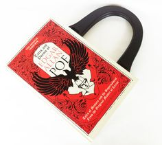 Tales and Poems of Edgar Allan Poe Book Purse  by NovelCreations, $58.00