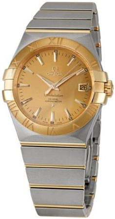 Omega Mens 12320352008001 Constellation Champagne Dial Watch -- Be sure to check out this awesome product.