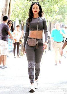 #Rihanna in Alexander Wang X H&M