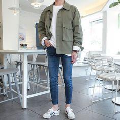 Korean Fashion Men, Best Mens Fashion, Look Fashion, Korean Men, Look Man, Stylish Mens Outfits, Inspiration Mode, Korean Outfits, Mens Clothing Styles