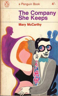 The Company She Keeps - original Penguin edition cover by Alan Aldridge