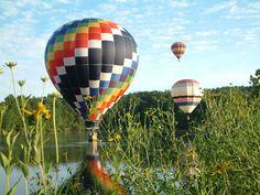 Enjoy a Balloon Ride Over Scenic Charlottesville VA