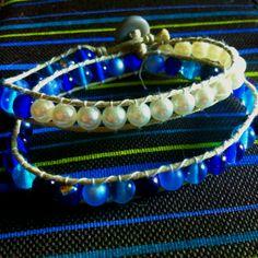 My DiY ocean wrap bracelet.