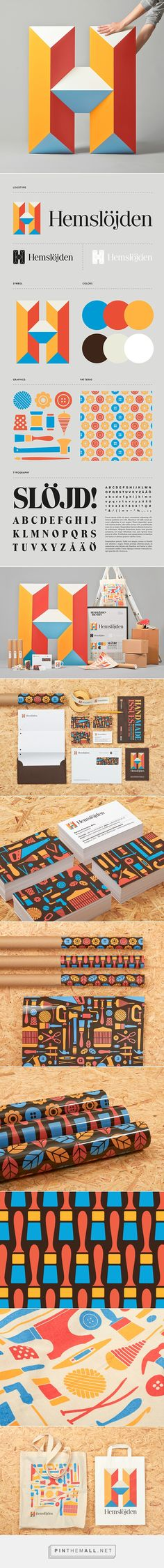 Swedish Handicraft Societies on Behance by Snask curated by Packaging Diva PD. Patterned #packaging #branding #logos created via https://www.behance.net/gallery/19947579/Swedish-Handicraft-Societies