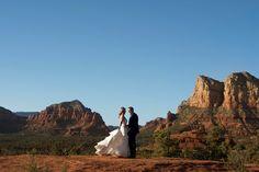 Enchantment Resort Wedding  - Cameron and Kelly Studio. Sedona Wedding photography. Bell rock wedding photos.