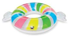Penny Candy Pool Inflatable Cupholder Floats 3 Pack Includes 3 Different Candy C 100% Guarantee Pool Fun
