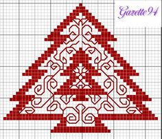 Christmas cross stitch pattern