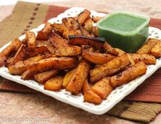 Roasted Chipotle Butternut Squash Fries