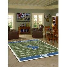 Detroit Lions NFL Home Field Rug