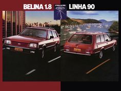 Ford Belina 1.8 - from Brasil - brochure (1990)